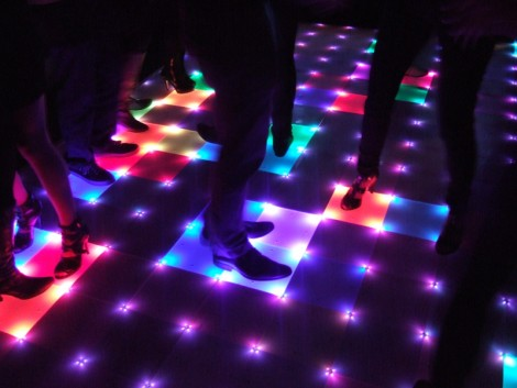 Dancefloor illumination