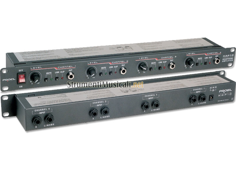 Amplificateur de casque Headamp6, Proel Hap 10 Image