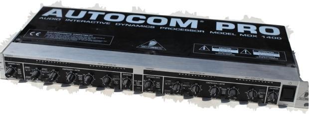 Compresseur/ limiteur BEHRINGER AUTOCOM PRO MDX 1400 Image