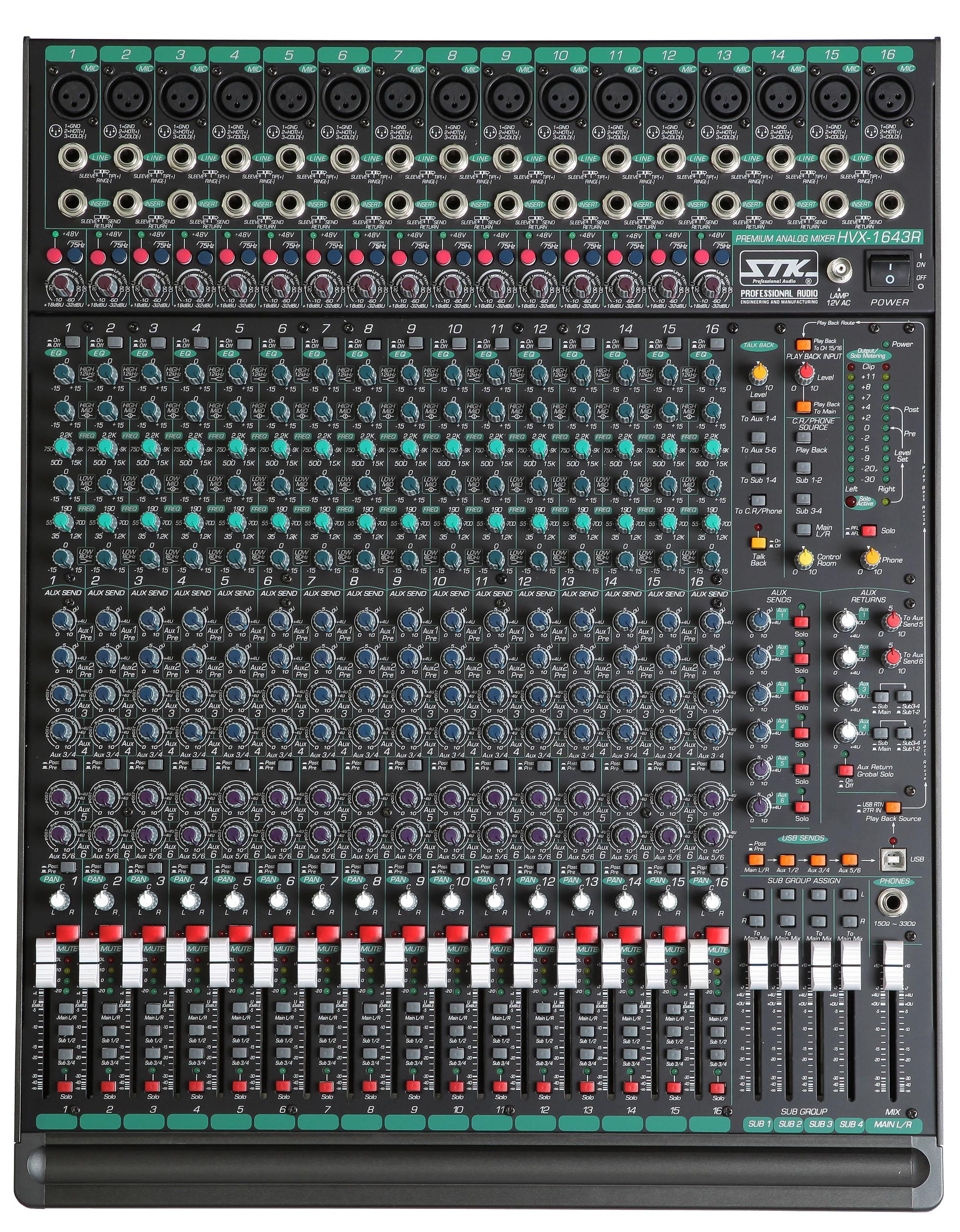 Tables de mixage analogique - STK HVX1643R Image