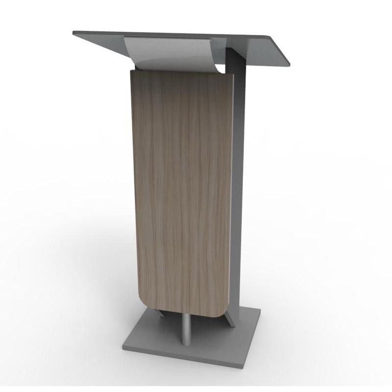 Pupitre orateur plexi ou bois Image