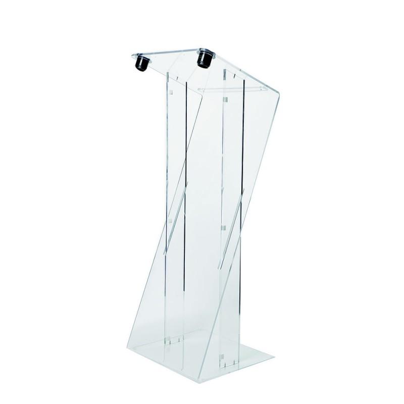 Pupitre orateur plexiglass Image