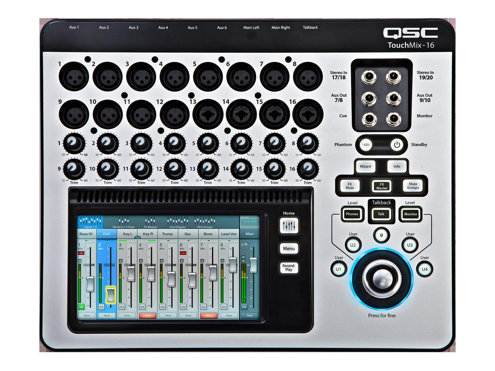 Table de mixage QSC TouchMix Image