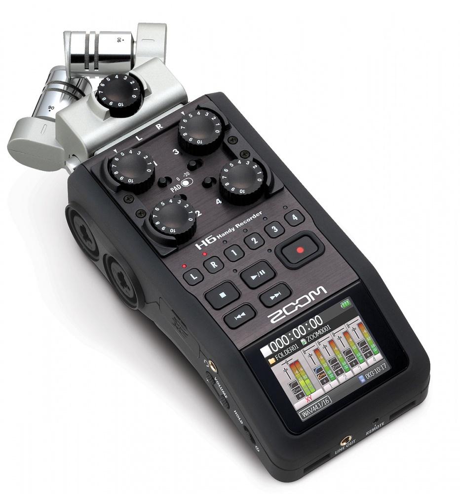 Enregistreur audio numérique - Zoom H6 Image