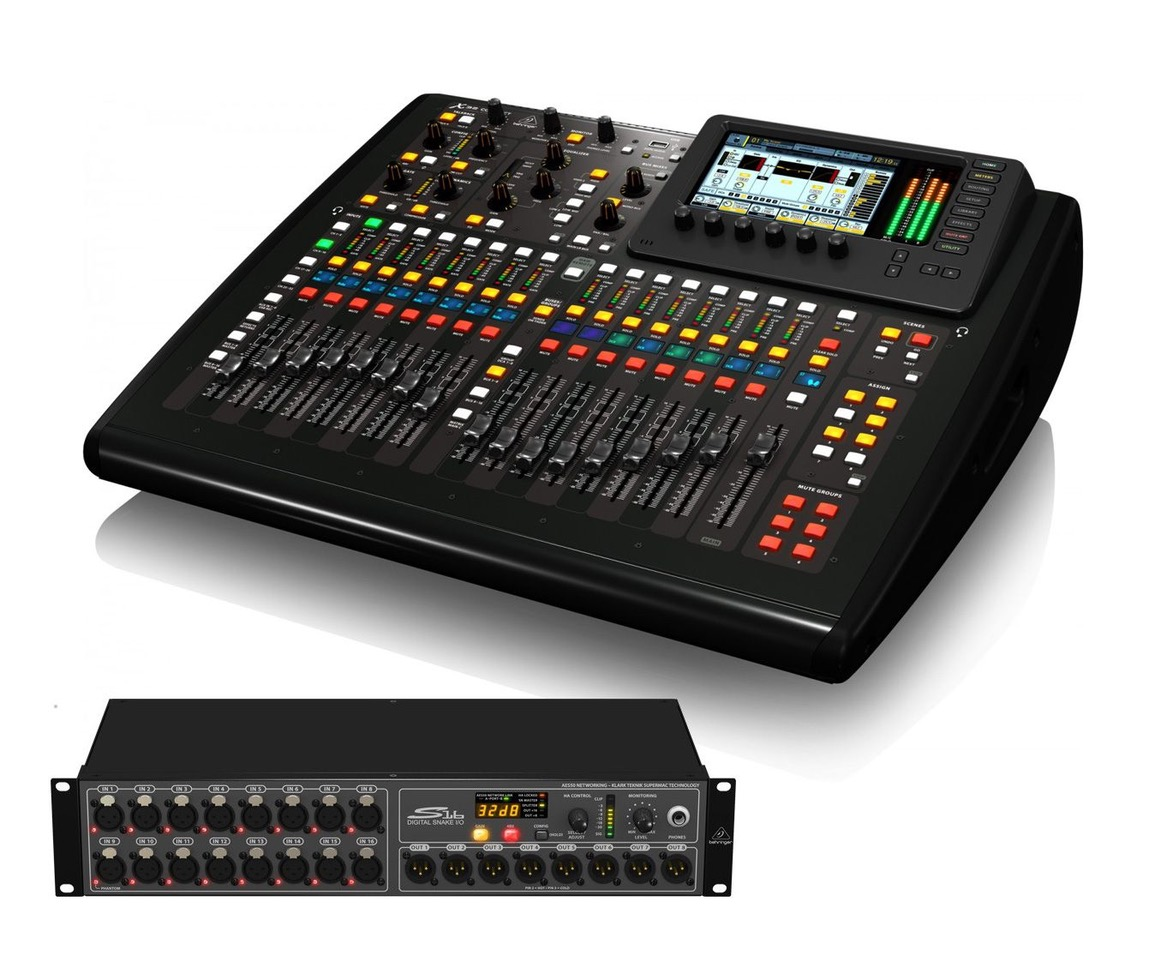 Table de mixage M32 compact + stage box Image